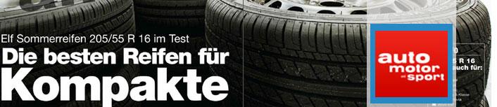 Test anvelope de vara 2014 Auto Motor und Sport